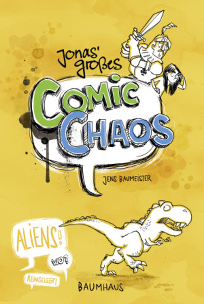"""Jonas' großes Comic Chaos"" von Jens Baumeister"