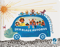 Der blaue Autobus  - James Krüss - Hardcover